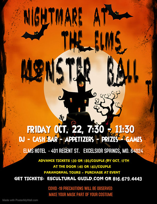 Nightmare at the Elms Monster Ball
